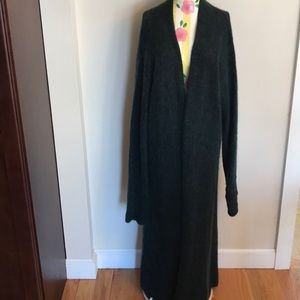 Eileen Fisher Italian Yarn Long Cardigan